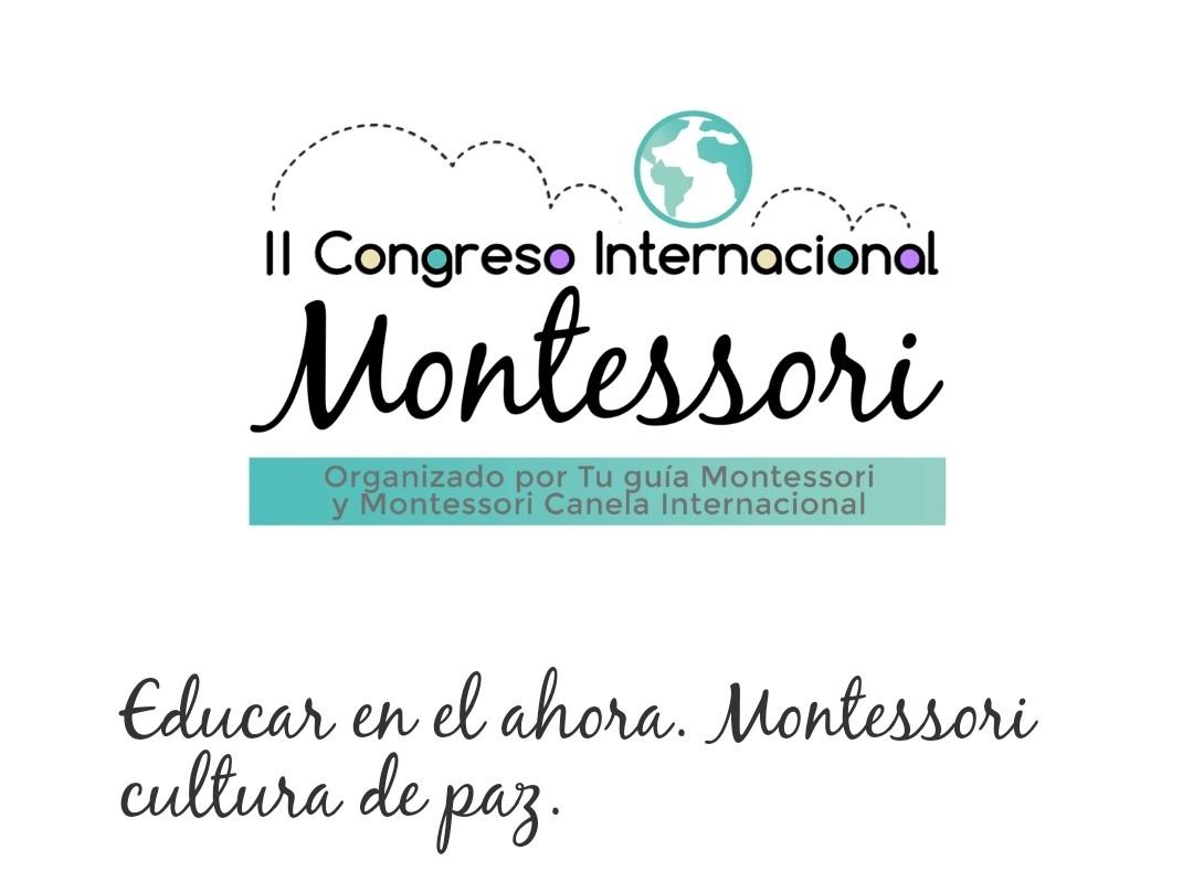 logo II CONGRESO INTERNACIONAL MONTESSORI